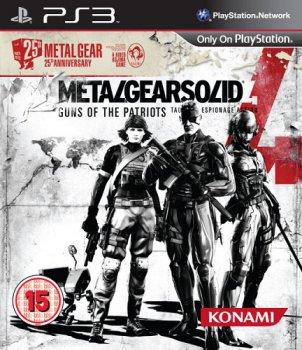 [PS3] Metal Gear Solid 4: 25th Guns of the Patriots - Anniversary Edition (2012) [EUR][ENG][L]