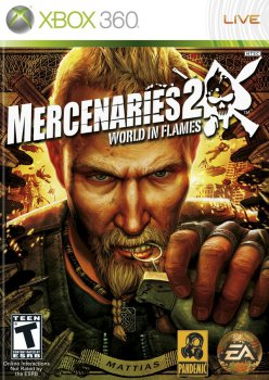 [XBOX360]Mercenaries 2: World In Flames (2008) [PAL] [RUS] [L]