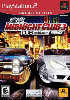 [PS2]Midnight Club 3: Dub Edition REMIX [PAL/RUS]