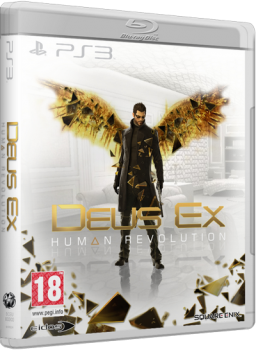 [PS3]Deus Ex: Human Revolution + All DLC [EUR/RUS] [3.55 Kmeaw]