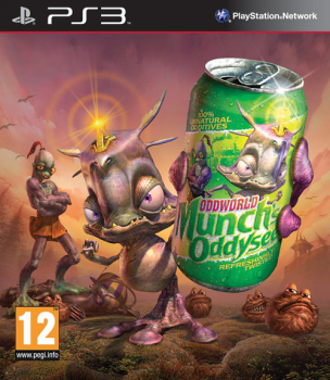 [PS3]Oddworld: Munch's Oddysee HD [EUR/ENG] (Move)