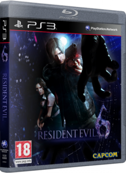 [PS3] Resident Evil 6 [PAL] [RUS\ENG] [Repack] [2хDVD5]
