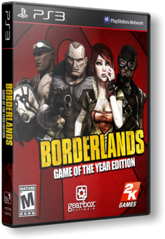 [PS3]Borderlands: Game of the Year Edition [PAL] [RUS] [Repack] [2xDVD5]