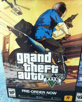 Новые арты Grand Theft Auto V