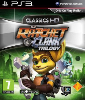 [PS3]The Ratchet & Clank Trilogy: Classics HD [EUR/ENG]