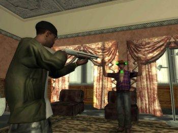 [PS2] Grand Theft Auto: San Andreas (GTA SA) [RUS/ENG|NTSC] + save(100%+Hot Coffee)