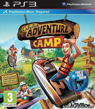 [PS3]Cabela's Adventure Camp [FULL][ENG] [Move][3.41/3.55/4.30]