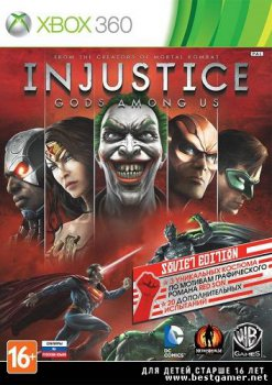 [XBOX360]Injustice: Gods Among Us [Region Free/RUS] [LT+ v2.0]