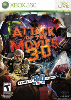 [XBOX360]Attack of the Movies 3D (2010/NTSC/ENG/XBOX360)