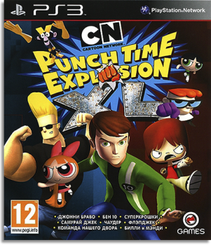 [PS3]Cartoon Network: Punch Time Explosion XL [FULL] [ENG] [3.41/3.55/4.30]