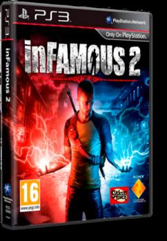[PS3]inFamous 2 | Дурная репутация 2 [EUR/Multi/RUS/ENG]