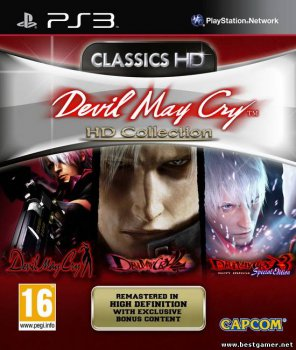 [PS3]Devil May Cry HD Collection [EUR/ENG] (REBUG 4.30.2 + reActPSN 2.23)