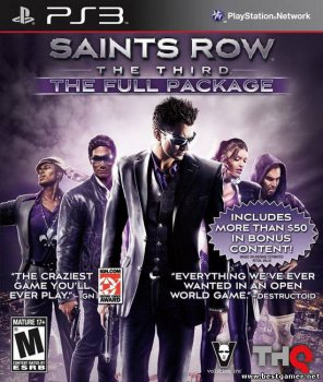 [PS3]Saints Row: The Third - The Full Package (2012) [USA][RUS][L] [3.55][4.21]