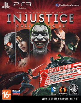 [PS3]Injustice Gods Among Us [PAL] [RUS ENG] [Repack] [2хDVD5]