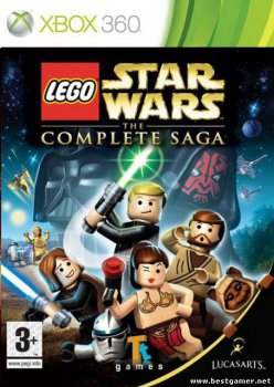 [XBOX360]Lego Star Wars: The Complete Saga [XBOX360] [Region Free] [Rus] (2008)