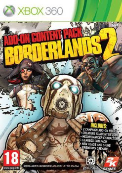 [DLC] Borderlands 2: Add-On Content Pack [Region Free, ENG] (2013)