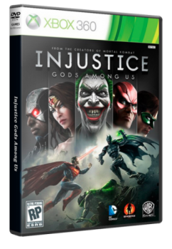 [XBOX360]Injustice: Gods Among Us + DLC (2013)