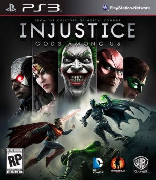 [PS3]Injustice Gods Among Us [Repack] [3хDVD5]