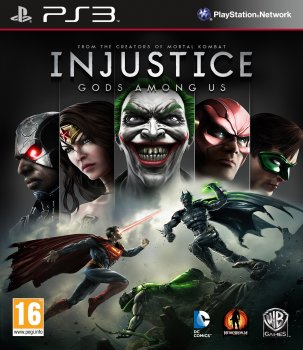 [PS3]Injustice Gods Among Us [PAL] [RUS\ENG] [Repack] [3хDVD5]