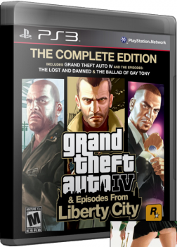 [PS3]Grand Theft Auto IV: Complete Edition [RUS\ENG] [Repack] [5хDVD5][3.55/4.30+] [FULLRip]