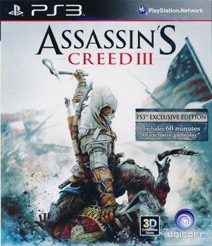 [PS3]Assassin's Creed III [PAL] [RUS] [Repack] [4хDVD5]