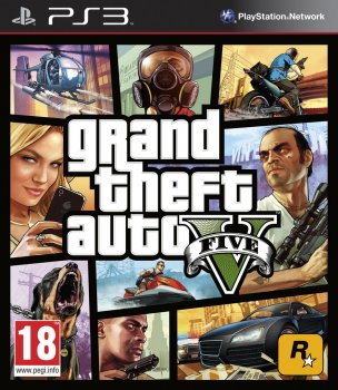 [PS3]Grand Theft Auto V (2013) [ENG][L]