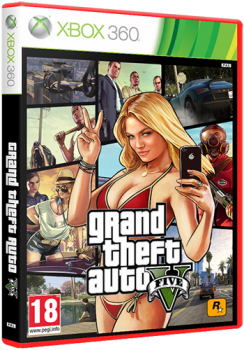 [XBOX360]Grand Theft Auto V [RegionFree/RUS] (XGD3) (LT+ 2.0)
