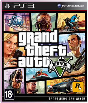 [PS3]Grand Theft Auto V [FULL] [RUS] [3.41/3.55 ONLY]
