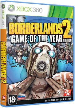 [XBOX360]Borderlands 2: Game of the Year Edition [Region Free/ENG]