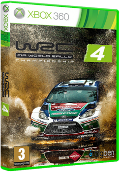 [XBOX360]WRC FIA World Rally Championship 4 [PAL/ENG]