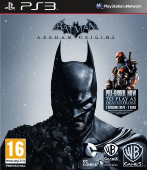 [PS3]Batman Arkham Origins [USA/RUS]