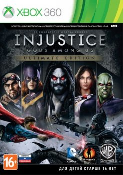 [XBOX360]Injustice: Gods Among Us. Ultimate Edition [Region Free/RUS] (XGD3) (LT+ 3.0)