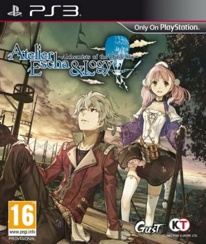 [PS3]Atelier Escha and Logy: Alchemists of the Dusk Sky [EUR/ENG] [ANTiDOTE]