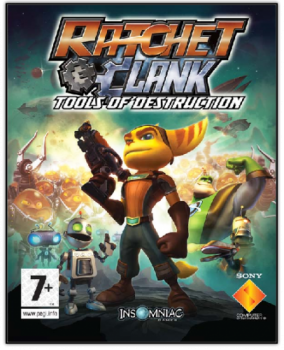 [PS3]Ratchet & Clank Future: Tools of Destruction [EUR] [ENG] [Repack] [3xDVD5]