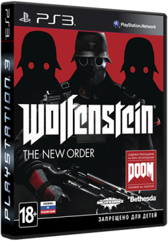 [PS3]Wolfenstein The New Order (2014) [EUR][RUS][P] [3.55] [Cobra ODE, E3 ODE PRO ISO]