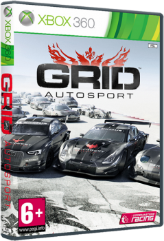 [XBOX360]GRID Autosport [Region Free/RUSSOUND][MULTI-9](XGD3) (LT+3.0) XBOX360