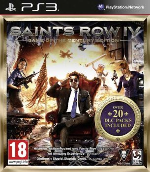 [PS3]Saints Row IV Game of the Century Edition [EUR/ENG]