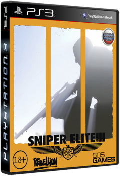 [PS3]Sniper Elite III [EUR/RUSSOUND][MULTI-9]
