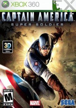 [XBOX360]Captain America: Super Soldier [GOD/RUS] XBOX360