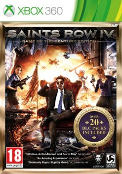 Saints Row IV : Game of the Century Edition [Region Free/ENG]  [XBOX360]