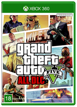 [XBOX360] Grand Theft Auto V All DLC [JTAG/FULL] [DLC/RUS]