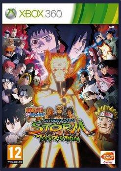 [XBOX360]Naruto Shippuden: Ultimate Ninja Storm - Revolution [PAL/NTSC-J] [RUS]