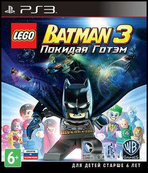 [PS3]LEGO Batman 3: Beyond Gotham | Покидая Готэм [FULL] [ENG] [4.53+]