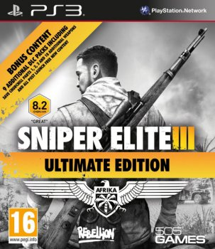 [PS3]Sniper Elite III Ultimate Edition [EUR/RUS] [ABSTRAKT]