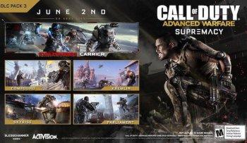 [XBOX360]CoD : Advanced Warfare - Supremacy DLC [RUS]