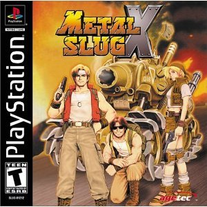 [PS] Metal Slug X [2001, Action / Platform]