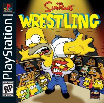 [PS] The Simpsons Wrestling [2001, Fighting]
