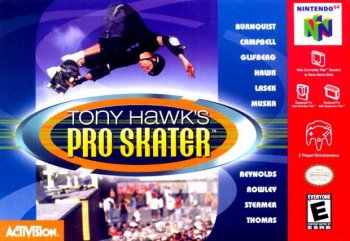 [PS] Tony Hawk's Pro Skater 1 [1999, Спорт]