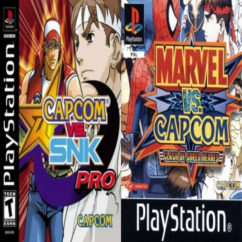 [PS] Marvel VS. Capcom & Capcom VS. SNK [2000,2002, Fighting]