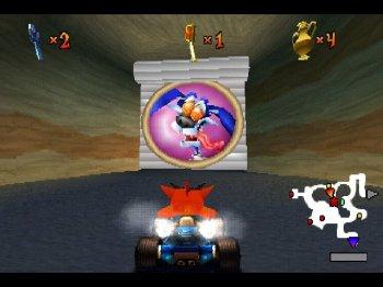 [PS] Crash Team Racing (русский текст+озвучка) [1999, Аркадные гонки]